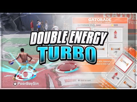 Unlimited Energy Turbo In NBA 2K18 - Dribble Like A Dribble God With These Perks - Energy Turbo X2!