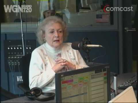WGN Radio - Dean Richards talks with Betty White - Part 1
