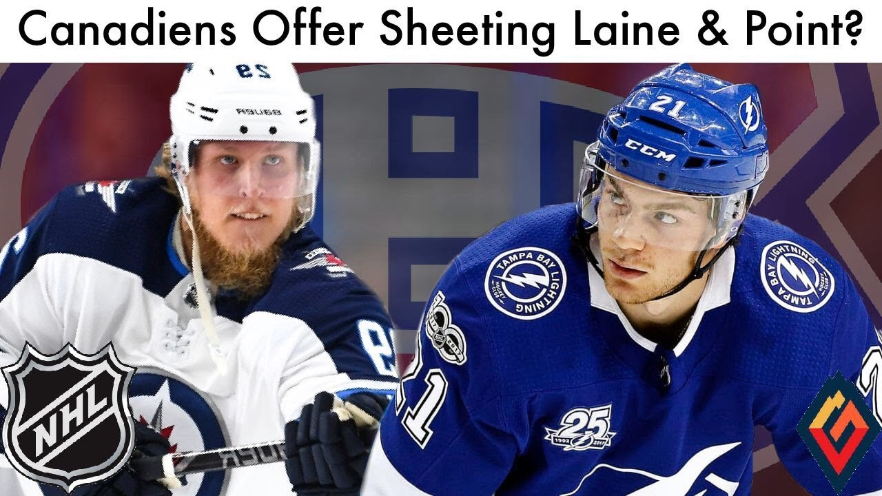 Canadiens To Offer Sheet Patrik Laine & Point? (Habs/NHL Montreal Trade  Rumors, News & Talk 2019)