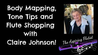 Body Mapping, Tone Tips and Flute Shopping with Claire Johnson at Carolyn Nussbaum Music Co.