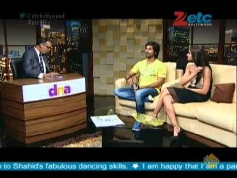 Shahid Kapoor & Ileana D'Cruz with Komal Nahta