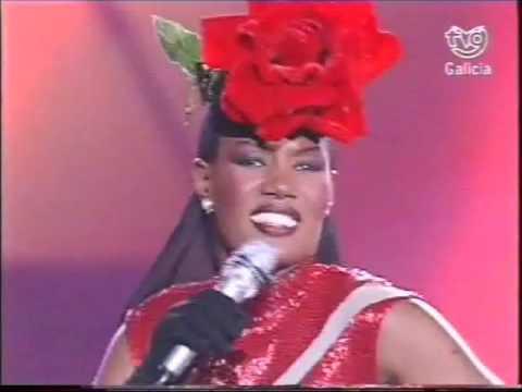 Grace Jones -  La Vie En Rose - Spanish TV