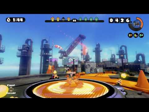 SALTSPRAY RIG ~ SPLAT ROLLER 10 ~ GLOBAL TESTFIRE 2016 ~ SPLATOON - No Commentary
