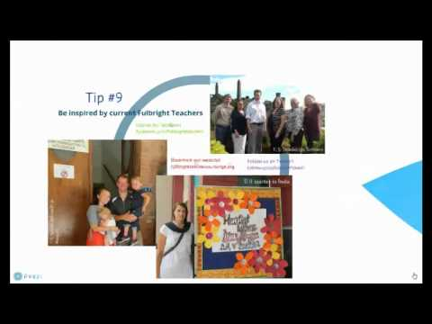 Top 10 Tips for a Successful Fulbright Classroom Teacher Exchange Application
