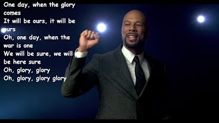 glory common john legend Lyrics