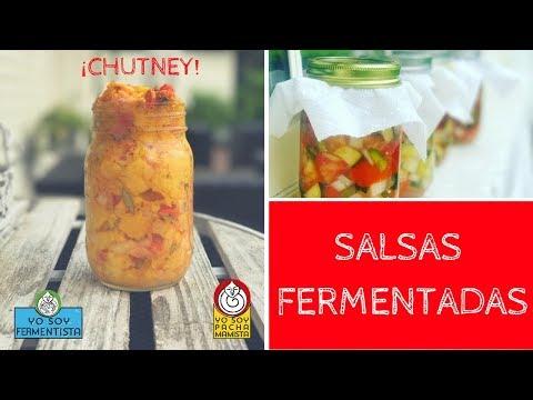 Cómo hacer SALSAS y CHUTNEYS fermentados