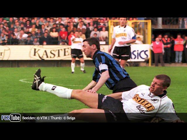 1994-1995 - Beker Van België - 04. Halve Finale - Eendracht Aalst - Club Brugge 0-0