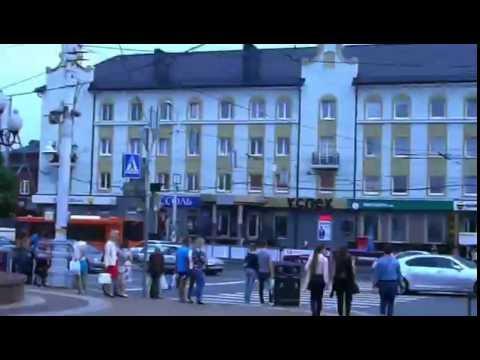 Walking through the city. to Kaliningrad (Königsberg) (Walk to the city center).