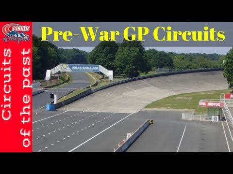 Top 10 pre-war Grand Prix circuits | Circuits of the past