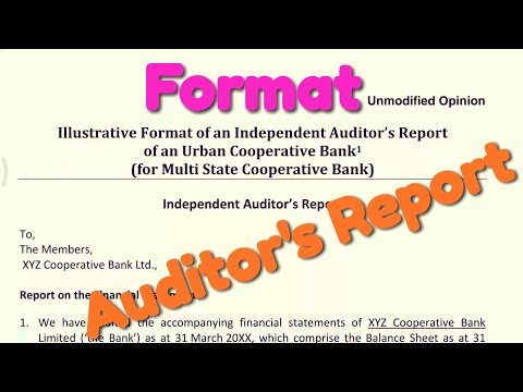Usually the independent auditors report illustrative format of an independent auditors report sudhirmishraclasses smc altavistaventures Image collections