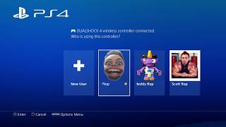 How To Delete PS4 Accounts User Profile on The PS4 - PS4 Tutorial