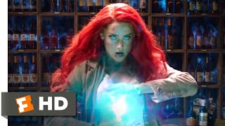 Aquaman (2018) - Mera's Rooftop Chase Scene (6/10) | Movieclips