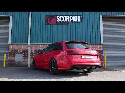 Audi RS6 C7 4 0 TFSI Bi-Turbo Quattro Exhausts | RS6 C7 4 0 TFSI Bi