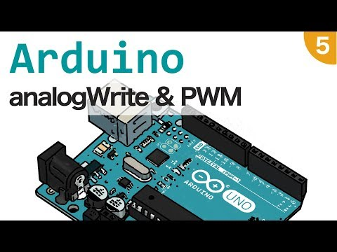 Arduino Tutorial Italiano - AnalogWrite E PWM - #5