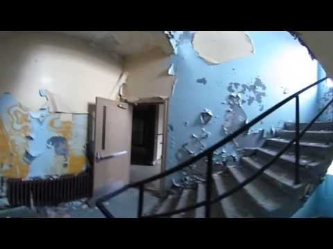Touring the abandoned buildings of Adak