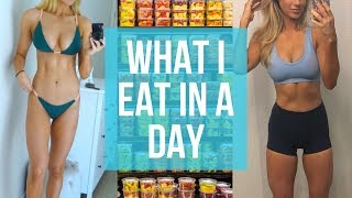 What I Eat In A Day! 💪 My Macros | Anna Victoria