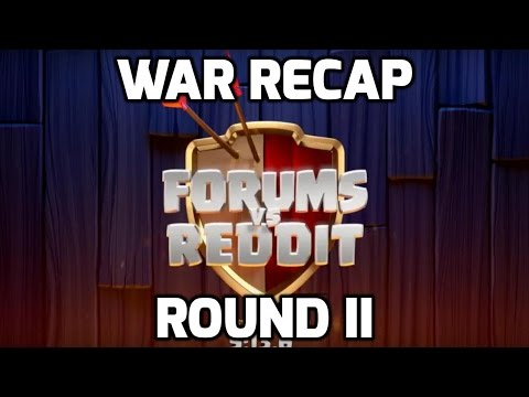 Clash of Clans: FORUMS VS REDDIT - ROUND 2, WAR RECAP (20 ATTACKS) | Mister Clash Gaming