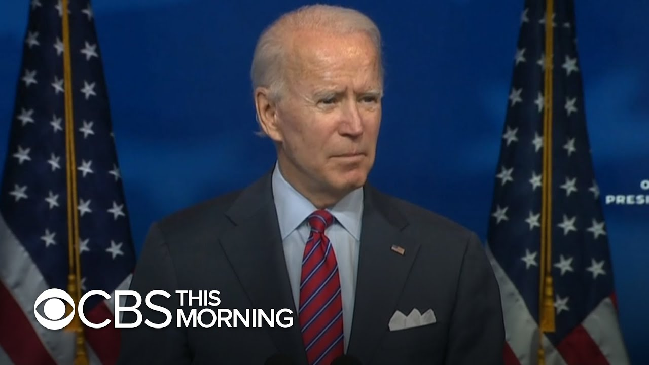 Biden says he would not make coronavirus vaccine mandatory
