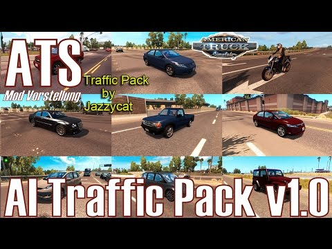 ATS ★ AI Traffic Pack v1 0 ★ Mod Vorstellung [Deutsch/HD]