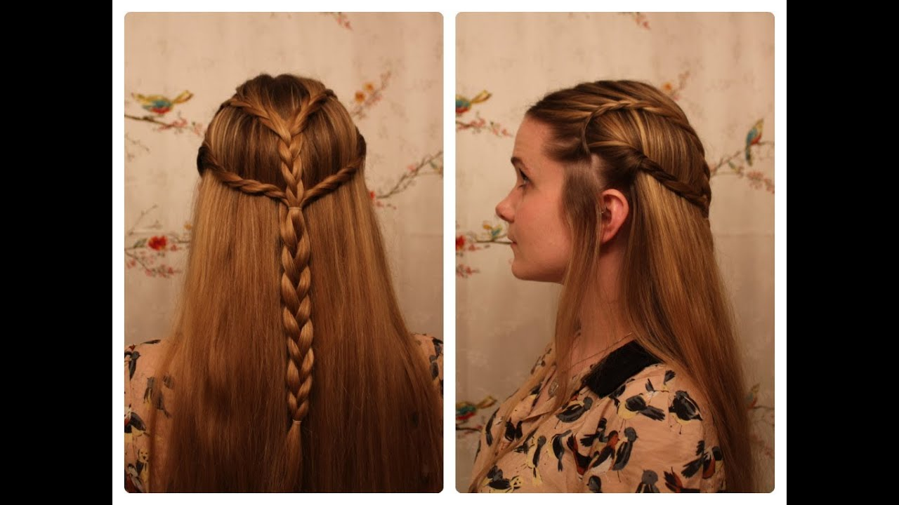 "Braids Inspired By ""The Hobbit's"" Tauriel YouTube"