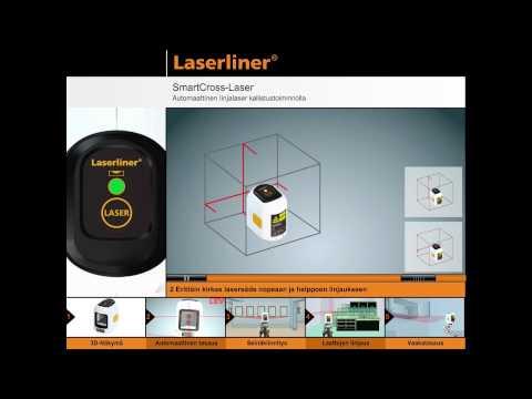 Лазерен нивелир LASERLINER SmartCross-Laser Set #ob3O2LK8DUI