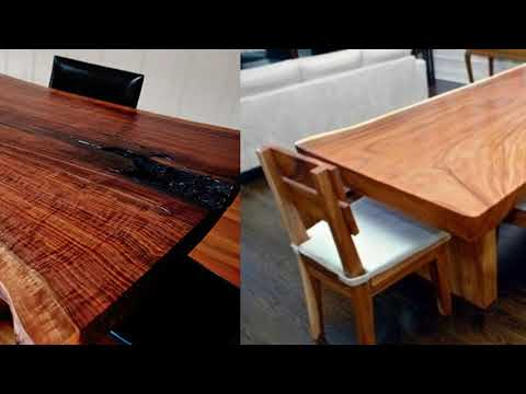 Suar Slab Wood Table Antique Collection Balinese