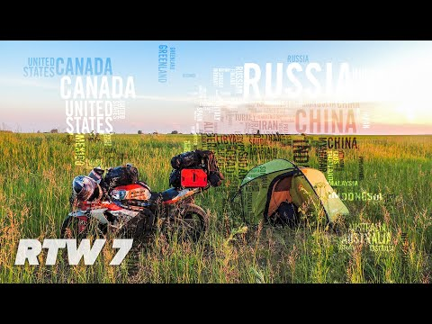 TeapotOne LIVE Your Life - Around The World by Motorcycle - Episode 7 Moscow to Novosibirsk