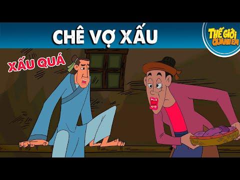 CHÊ VỢ XẤU - Phim hoạt hình - Truyện cổ tích - Chuyện cổ tích - Phim hoạt hình quà tặng 2021