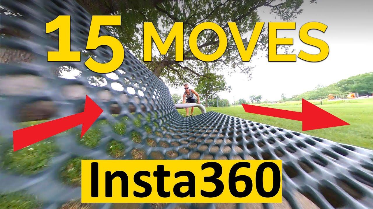 15 Insta 360 OneX Camera Moves