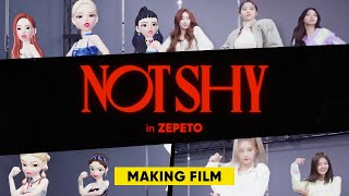 The secret of ZEPETO MV making🤫 ZEPETO ✕ ITZY❤️'NOTSHY' Making Film🎬