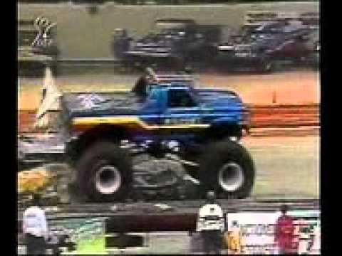 USHRA Monster Trucks 1991 New Orleans LA Deutsch