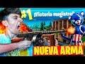 MI MEJOR PARTIDA CON EL *SUBFUSIL DE TAMBOR* En FORTNITE: Battle Royale! - Agustin51