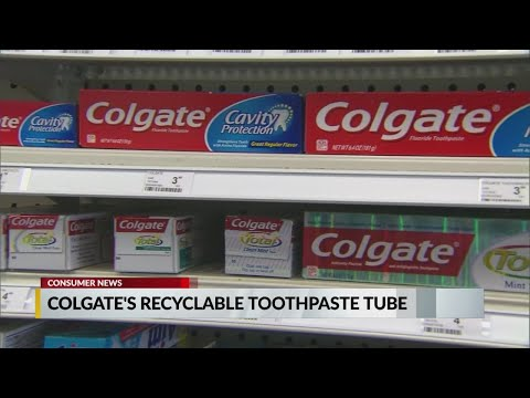 Melissa Forman in the Morning - Colgate's New Recyclable Toothpaste Tube