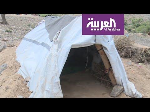 اللاجئون في رمضان: خيام صغيرة لا تتسع لعائلات النازحين غرب تعز  - 16:21-2017 / 6 / 24