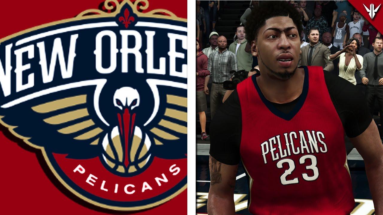 NBA 2K17 MyLEAGUE REBUILDING The New Orleans Pelicans
