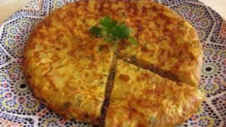 Moroccan Tortilla Recipe - Ramadan Specials - CookingWithAlia - Episode 78