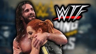 WWE Stomping Grounds 2019 WTF Moments  Becky Lynch Saves Seth Rollins