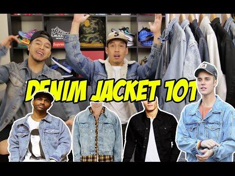 DENIM JACKETS 101!! 7 DIFFERENT WASHES!!