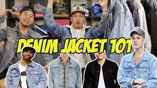 DENIM JACKETS 101!! 7 DIFFERENT WASHES!!