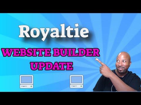 royaltie-ai-|-website-builder-update-|-royaltie-marketing