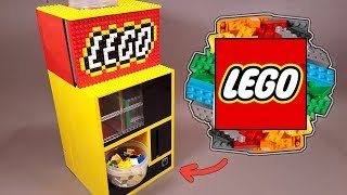 как сделать Автомат для продажи Деталей Лего