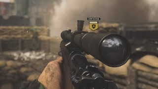 OpTic Pamaj - Call Of Duty WWII Sniping Gameplay NEW WAR GAMEMODE