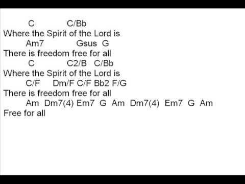 Free For All Song with Chords By Israel Houghton