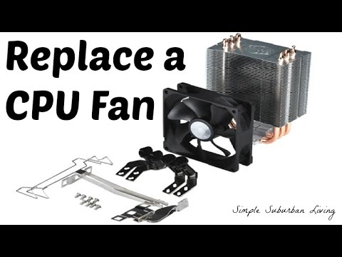 Replacing a CPU Fan - Step by Step Universal Process