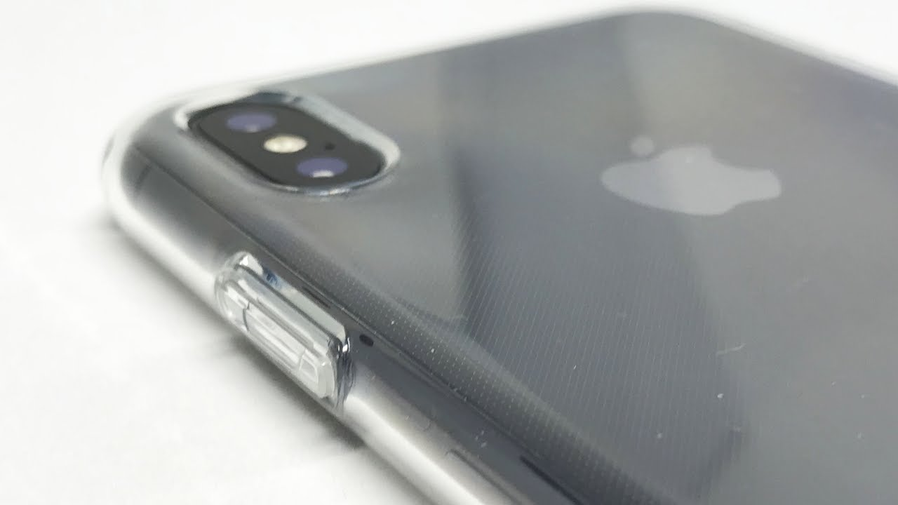 Installing Spigen Liquid Crystal (Crystal Clear) onto iPhone X