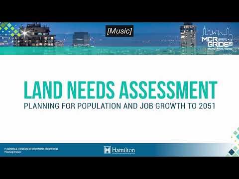Understanding the Land Needs Assessment