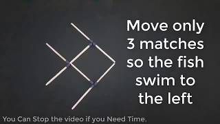 4 Matchstick Puzzles - Out of the Box Thinking