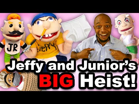 SML Movie: Jeffy and Junior's Big Heist!