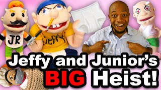 SML Movie: Jeffy and Junior's Big Heist!