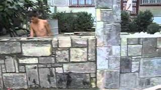 Строительство каменных заборов из бута .(На нашем сайте